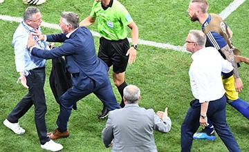 绝杀后,德国教练组挑衅庆祝惹冲突
