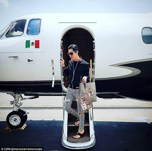 墨西哥将军儿子晒奢侈生活引网友愤怒