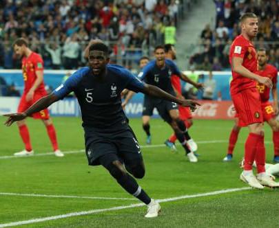 法国1比0力克比利时,时隔12年再次闯入世界杯决赛