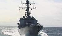 """欲造美国""""力挺""""的假象 台当局又高调炒作美舰过台湾海峡"""