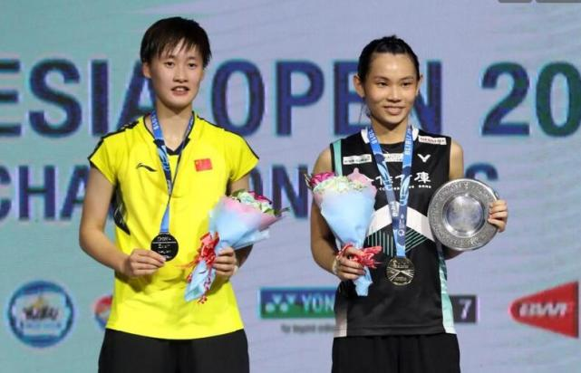 印尼公开赛国羽尴尬落幕 女单陈雨菲负戴资颖收