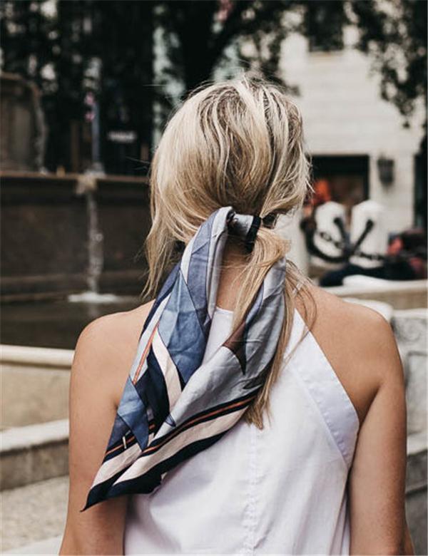 丝巾的6种系法你会几样?