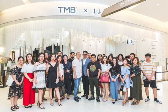 香港递加设计新作TMB混茶「律动之林」在广州K11发布