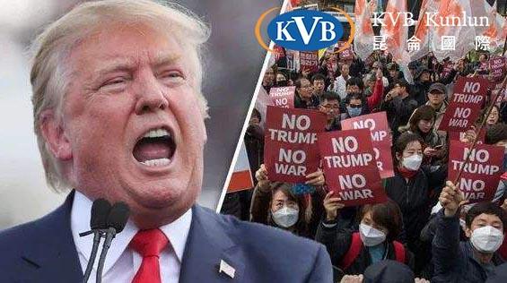 KVB昆仑国际|特朗普访英遭遇十万示威者