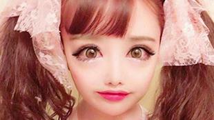 高能慎入!日本女子花340万整成动漫人物,对二次元的爱无法自拔