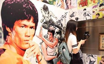"""""""李小龙逝世45周年 香港另类展览纪念一代巨星"""