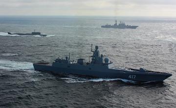 """俄核潜艇率舰队巡航北欧 """"未来之星""""首次远航"""" width="""