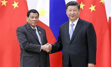 菲总统夸中国