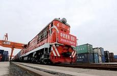 """上半年陕西""""长安号""""班列进出口货值增长7.7倍"""