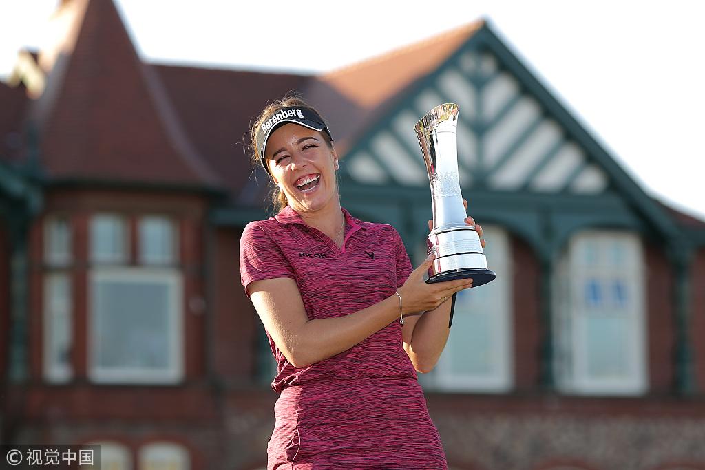 英国女子公开赛霍尔夺个人LPGA首冠 冯珊珊刘钰T7