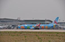 西安咸阳国际机场单月货邮增速居全国十大机场之首