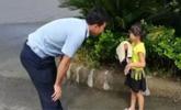 男子跟着小姑娘走8分钟 网友:这次