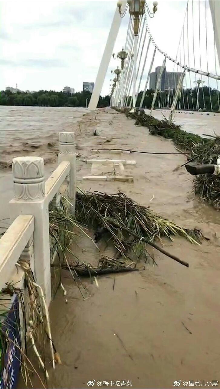 山东寿光遭水灾
