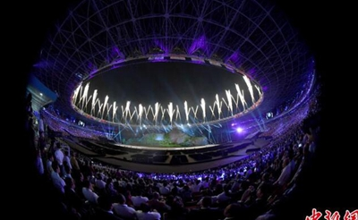 2018雅加达亚运会开幕