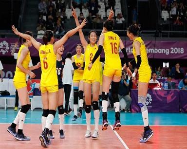 中国女排赢了,啦啦队也赢了