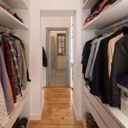 雪涵设计|小户型该怎样合理布置衣帽间?