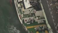 大阪连接关西机场桥梁受损 约700名中国游客滞留
