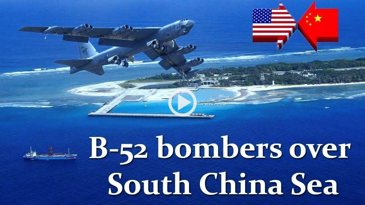 军机处第177期 美军B-52闯南海 我们有几种应对方式?