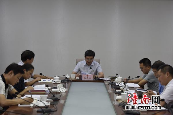 潼南区长王志杰:强化责任 做好