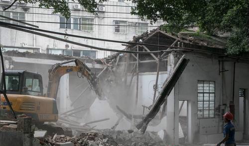 荔湾区今年拆除违建近159万平方米