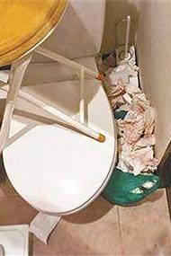 中国人在日本民宿扔垃圾