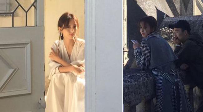 网友香波堡偶遇佟丽娅 抓拍镜头下的丫丫颜值超高