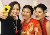 """""""林妙可参加友人婚礼"""