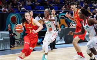 女篮世界杯:中国队75:66胜塞内加尔夺小组第二