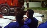 为救落水钓鱼青年 6名消防员被卷入漩涡溺毙
