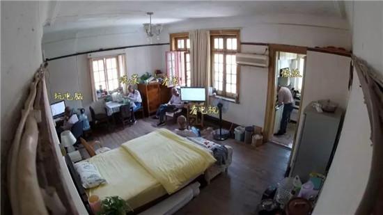 """英式老洋房重生 """"全是厅的家""""变身一厅三房大空间"""