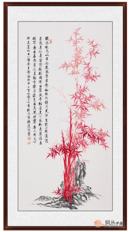 画竹子的画家 李传波竹子画涣发出勃勃生机图片