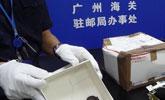 零食盒中藏75只小烏龜 廣州海關截獲多批活體動物
