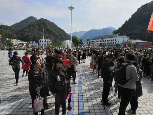 十一过后 嵩县依然人气爆棚 这个国家5A景区再迎客流高峰