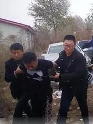 大庆在押脱犯被抓现场