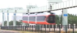 中国首条电气化空铁登场