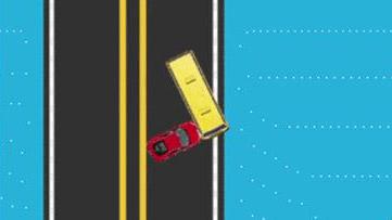 动画还原事故过程重庆公交坠江过程