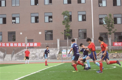 宜宾:合肥来复足球校园小学联赛学区开幕高县小学统考图片