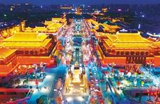 """西安全力打造""""西安年·最中国""""城市夜景亮化体系"""
