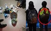 4名小学生逃学荒野求生 带了米和雨衣还背了一口锅