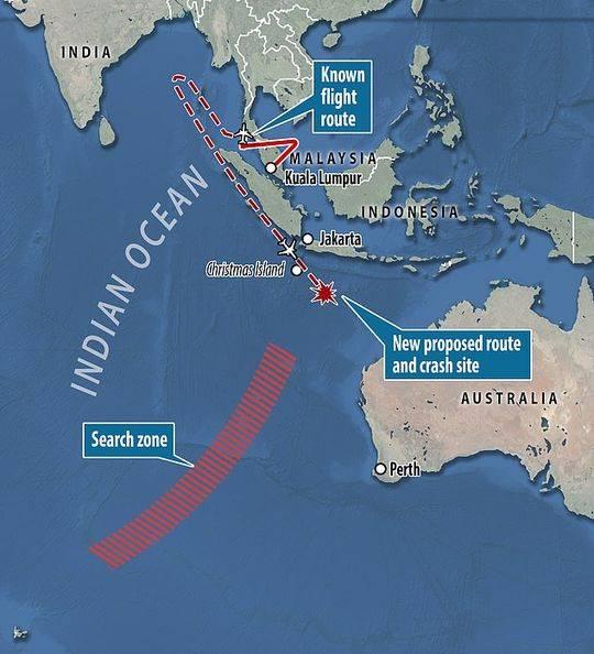 马航MH370为何找不到?丹麦教授:找错地方了