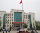 """宁陵县法院?#25300;?#19968;""""节后举行庄重的升国旗仪式"""