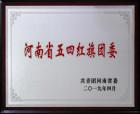 """商丘市第一人民醫院團委榮獲""""河南省五四紅旗團委""""稱號"""