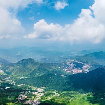 安徽九華山:步步皆景 風光無限