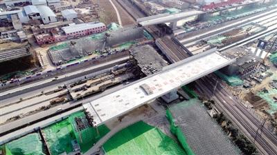 郑州西四环上跨陇海铁