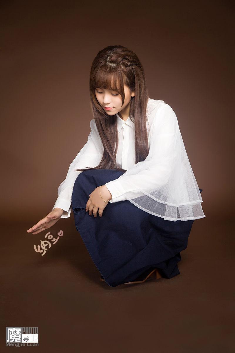 魔导士出品:实力唱见美少女主播纳豆写真