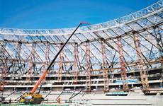 西安奥体中心建成后将成为西北最大体育中心
