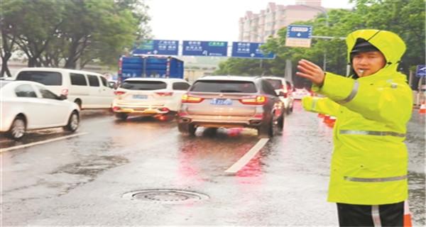 广州:10至20年一遇 中心城区珠江出现高潮位