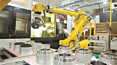"""首个电主轴5G智慧工厂落地广州 预计明年实现""""黑灯工厂"""""""