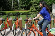 """""""五一""""小长假期间西安市民可免费骑用公共自行车"""