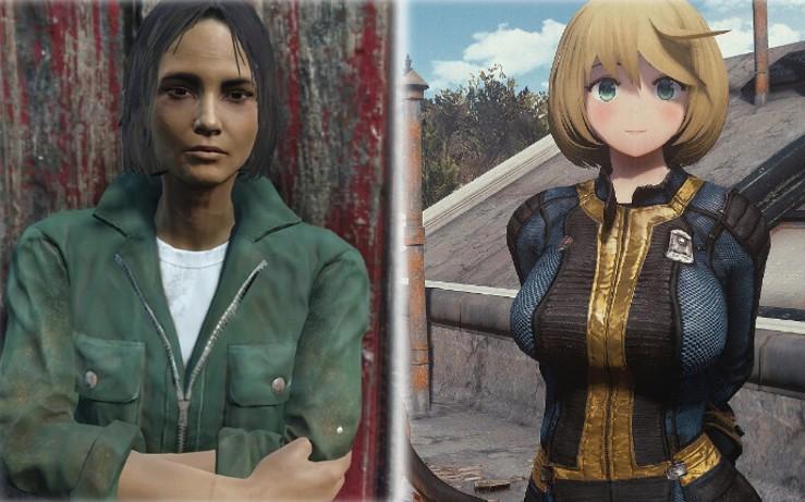 声音和大婶脸相差太大 日本玩家为爱模改《辐射4》NPC